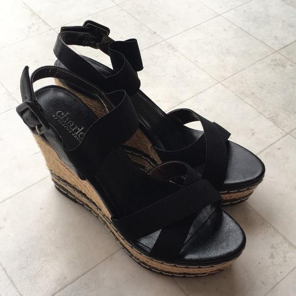 05537862f8f Charles David Shoes - Charles David Nordstrom black wedges